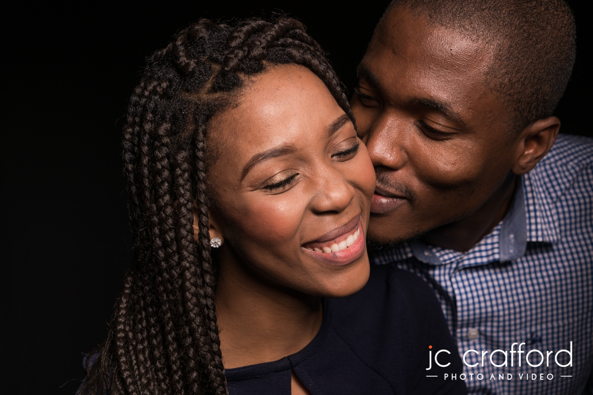 Couples studio shoot by JC Crafford Studio Photography K