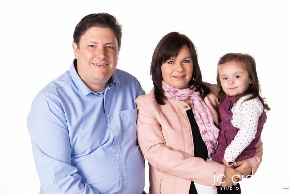 JC Crafford studio photography in Pretoria Family W