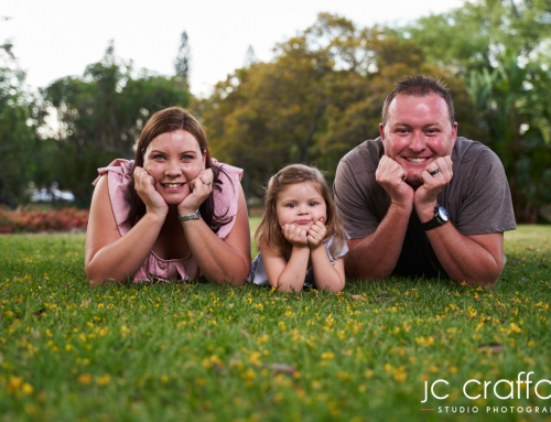 Llewelyn and Lene's Family Photoshoot at Jan Cilliers Park