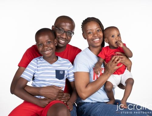 Phodiso's Family Photoshoot