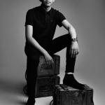 male modelling shoot