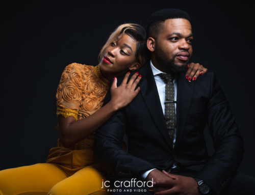 Lebogang and Lesedi's modelling shoot in our studio.