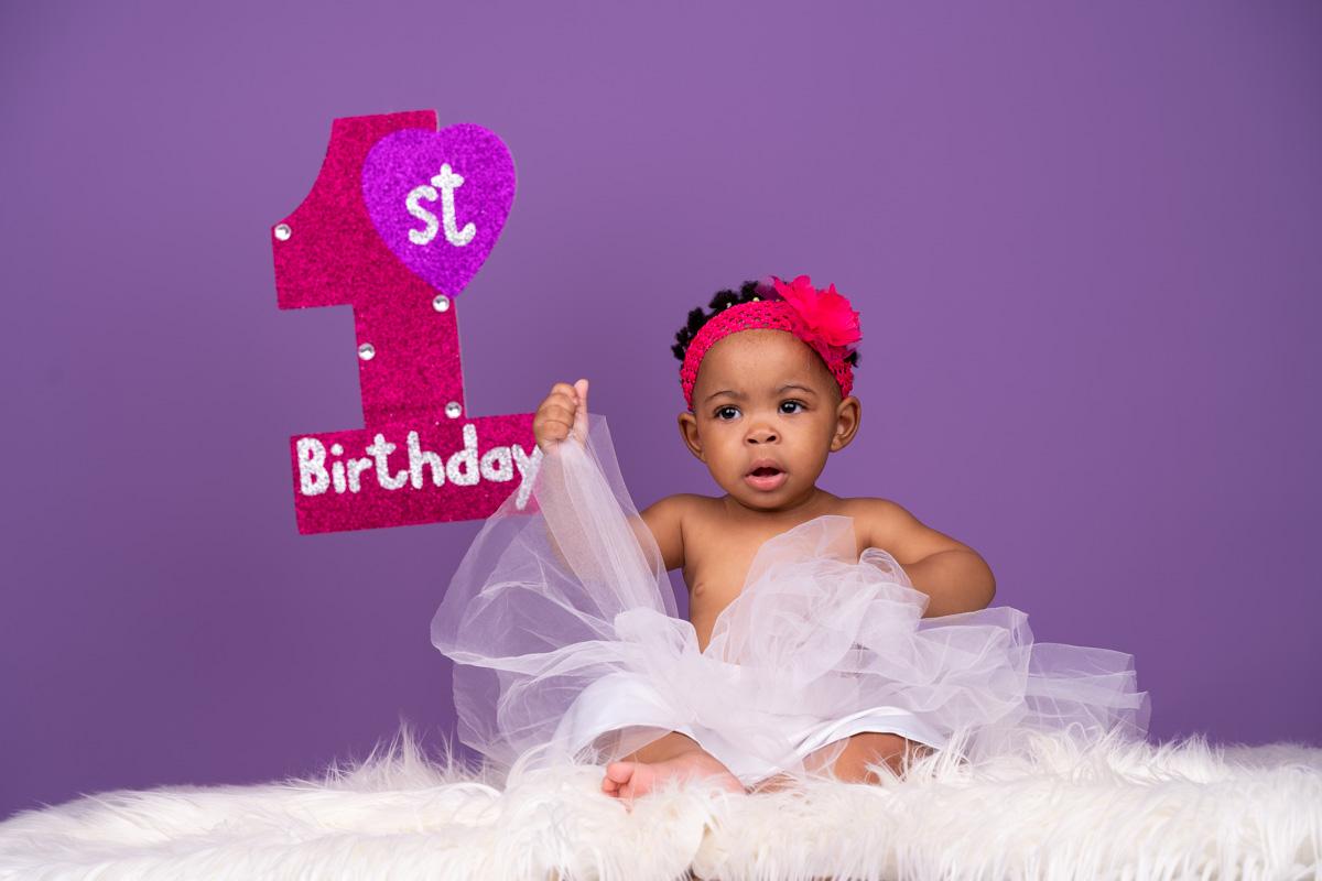 First birthday photo shoot Thato