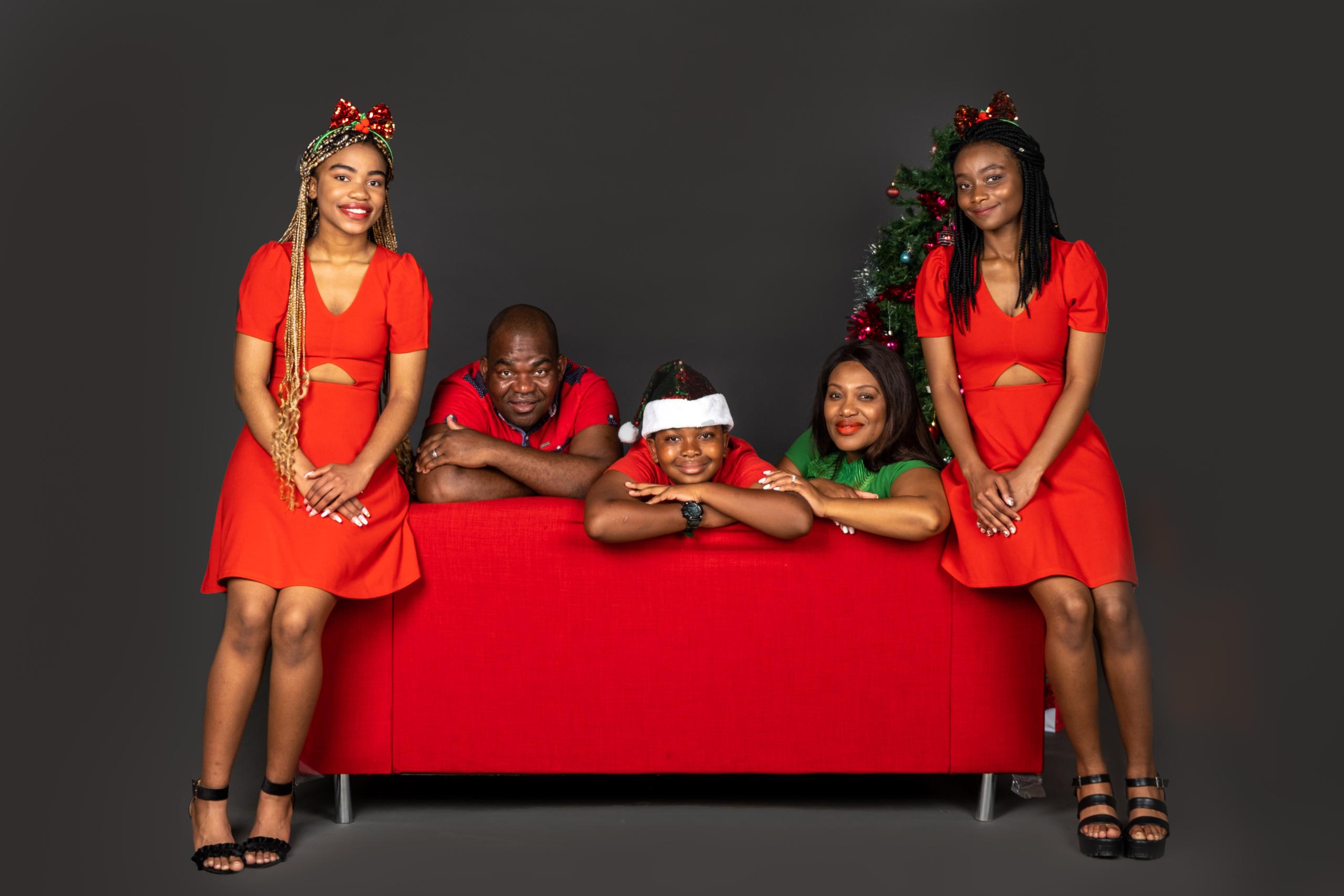 Family Photoshoot for Lazarus Ngarize
